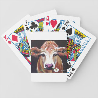 Daisy cow.JPG Bicycle Playing Cards