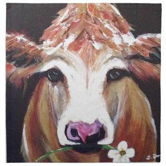 Daisy cow.JPG Napkin