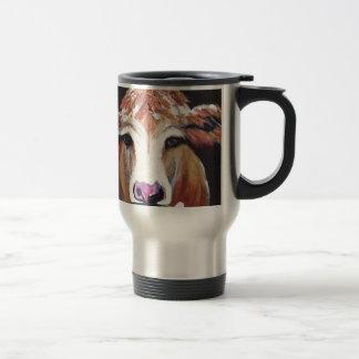 Daisy cow.JPG Travel Mug