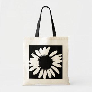 Daisy Crazy - Black & White Daisy Bag