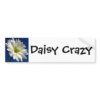 Daisy Crazy Bumper Stick Bumper Sticker