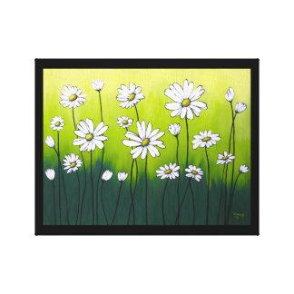 Daisy Crazy Canvas Print