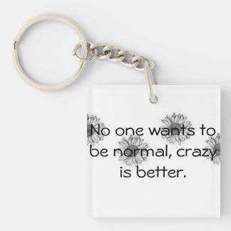 Daisy Crazy Keychain