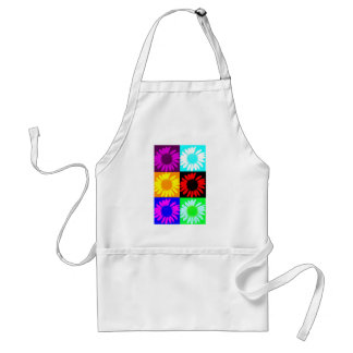Daisy Crazy - Multi-Color Daisies Aprons