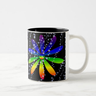 Daisy Cup ~ Rainbows & Stardust
