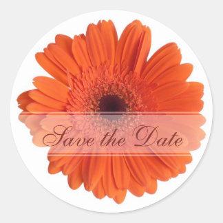Daisy Custom Floral Sticker