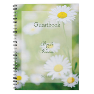 Daisy Daisies Flower Floral Summer guest book