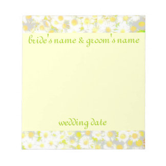 Daisy Daisy Save The Date Scratch Pads