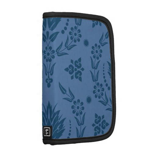 DAISY DAMASK, BAMBOO in BLUE Folio Planner