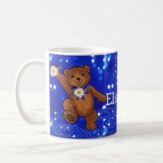 Daisy Dancing Teddy Bear Coffee Mug