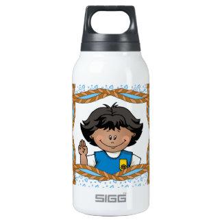 Daisy Dark Skin Insulated Water Bottle