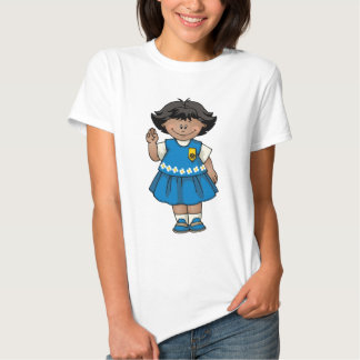 Daisy Dark Skin T Shirt