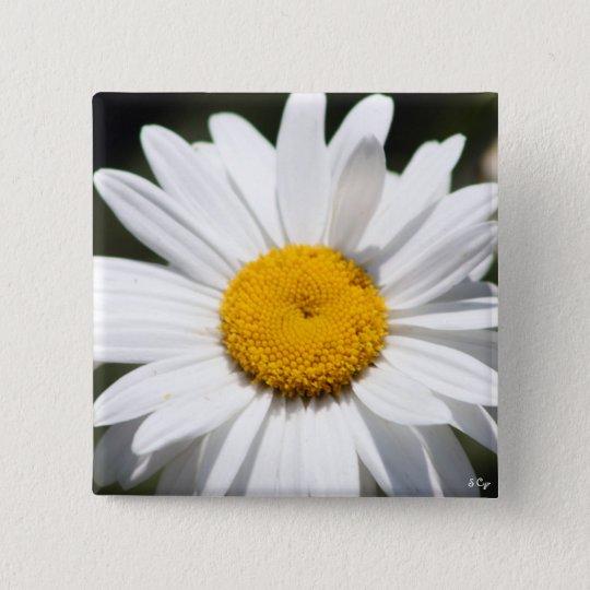 Daisy Darling Pinback Button