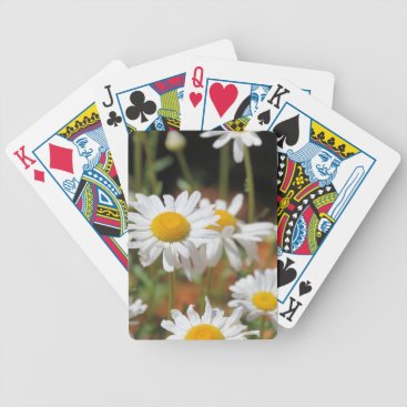 USA Themed Daisy day bicycle playing cards