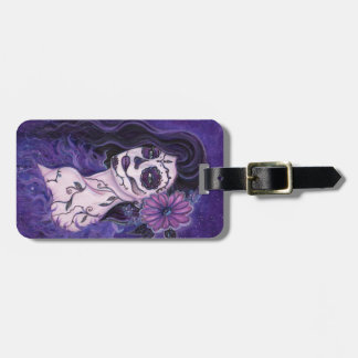 Daisy Day of the Dead glamour girl By Renee Luggage Tag