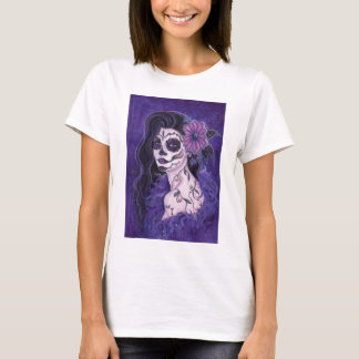 Daisy Day of the Dead glamour girl By Renee T-Shirt