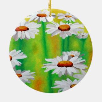 Daisy Day Christmas Ornaments