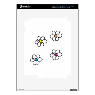 Daisy Decals For iPad 3
