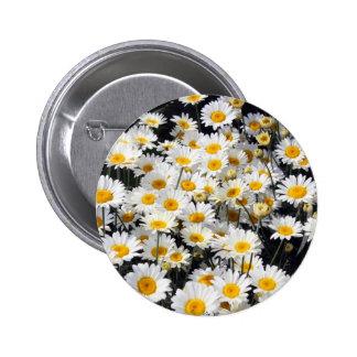 Daisy Delight 2 Inch Round Button