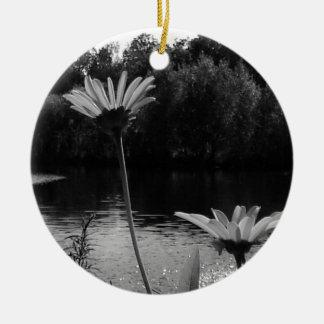Daisy Delights Ceramic Ornament