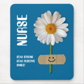 Daisy Design Nurses Day Gift Mousepad