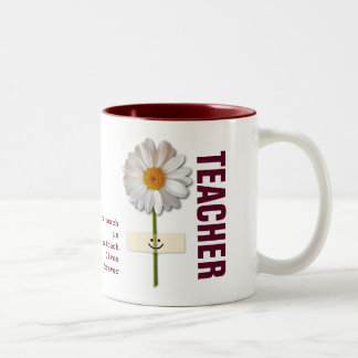 Daisy Design Teacher Appreciation Gift Mugs