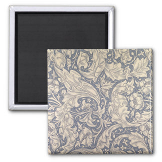 'Daisy' design (textile) 2 Inch Square Magnet