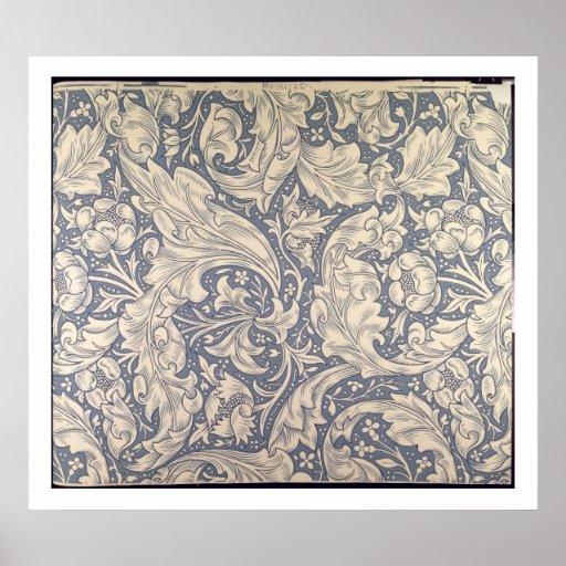 'Daisy' design (textile) Poster