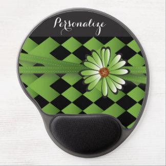 Daisy Diamond Peridot | Personalize Gel Mouse Pad