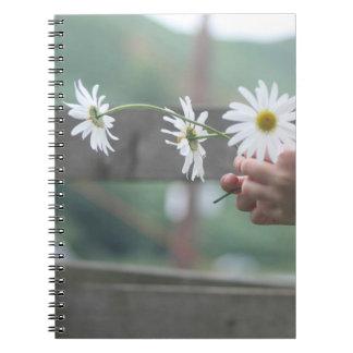 Daisy diary notebook