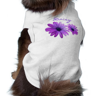 Daisy Dog Shirt Custom Purple Daisy Dog T-Shirt