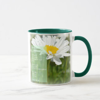 Daisy Dream Poem Coffee Cup