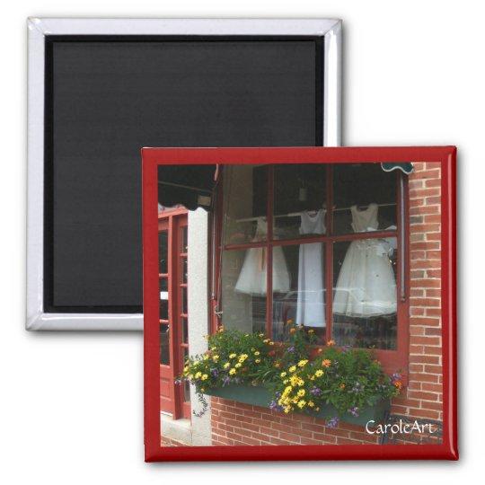 """Daisy Dresses Window Box"" Magnet"