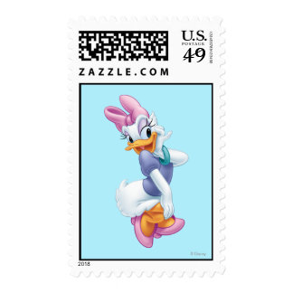 Daisy Duck 4 Postage Stamps