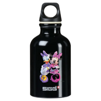 Daisy Duck And Minnie leaning against each other SIGG Traveler 0.3L Water Bottle