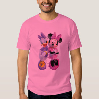 Daisy Duck And Minnie leaning against each other Tee Shirt
