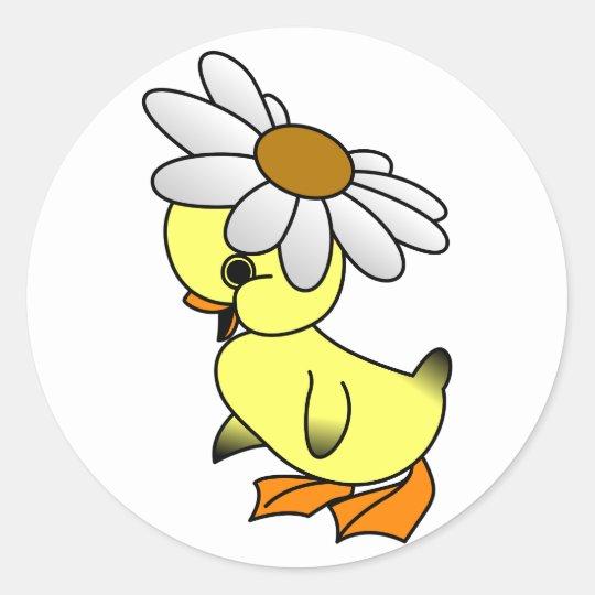 Daisy Duck Classic Round Sticker