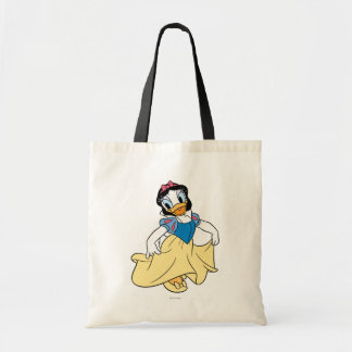 Daisy Duck Dressed up as Snow White Canvas Bag