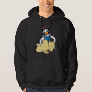 Daisy Duck Dressed up as Snow White Hoodie
