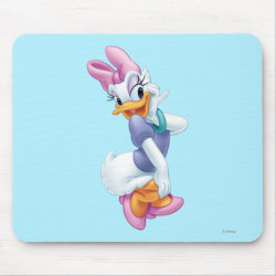 Mousepad with Daisy Duck design