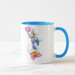 Combo Mug with Daisy Duck design