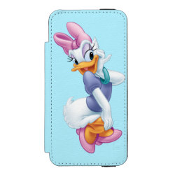 Incipio Watson™ iPhone 5/5s Wallet Case with Daisy Duck design