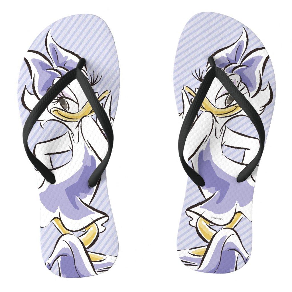 Daisy Duck | Sweet Like Sugar Flip Flops
