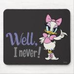 Daisy Duck - Well, I never! Mousepad