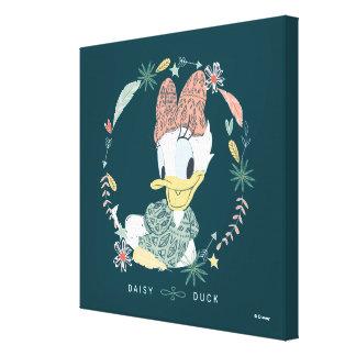 Daisy Duck | You Make Me Wander Canvas Print