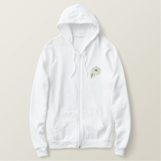 Daisy Embroidered Hoodie