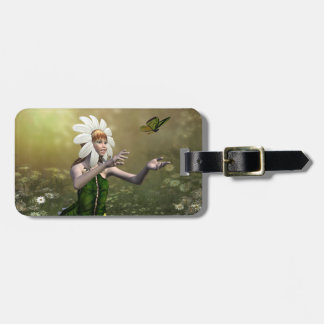 Daisy Fairy Luggage Tag