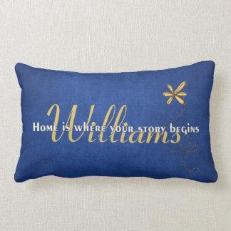 Daisy Family Design Throw Pillows