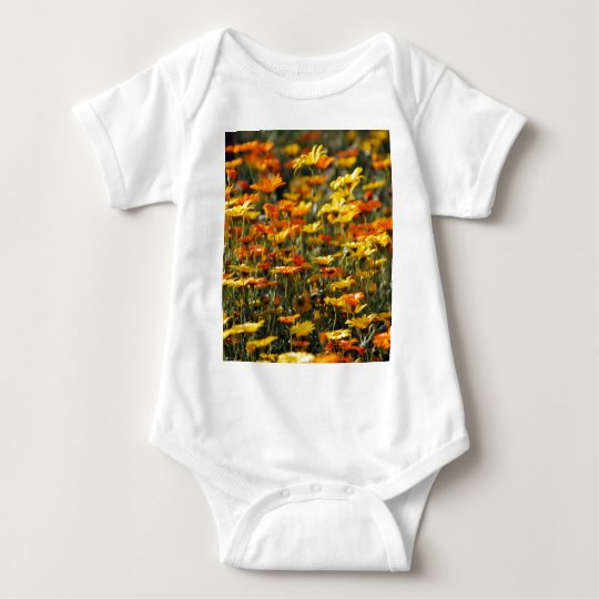 Daisy field and meaning baby bodysuit