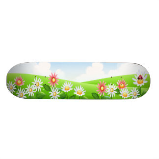 Daisy Field Skate Decks
